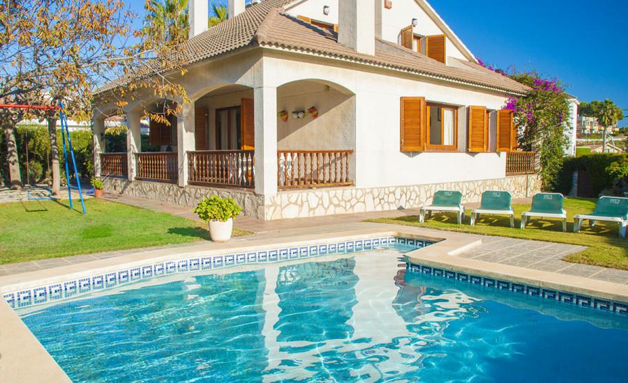 Chalet con piscina en Comarruga - Fotografia nº 4
