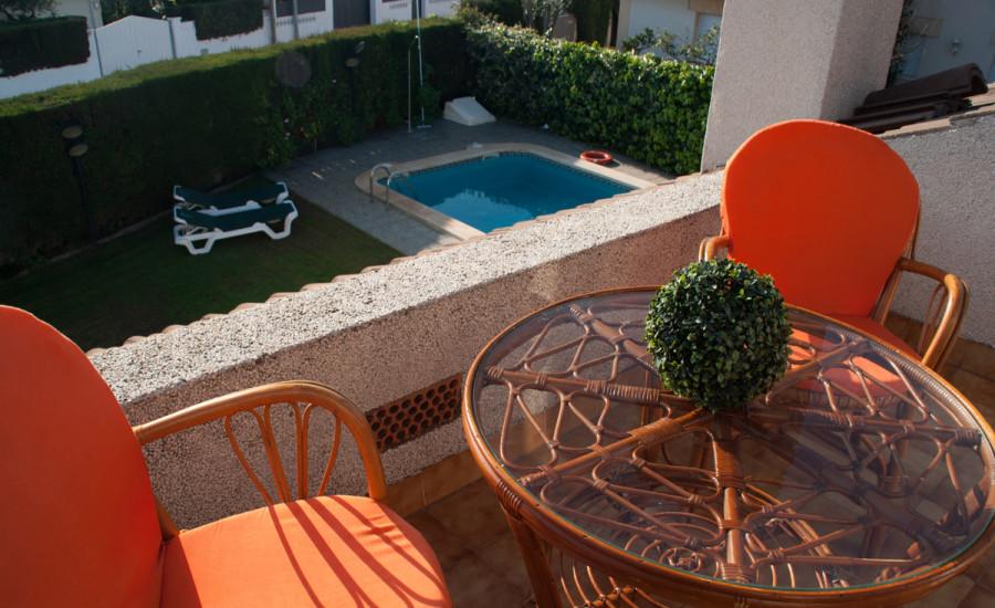 Chalet con piscina en Comarruga - Fotografia nº 15